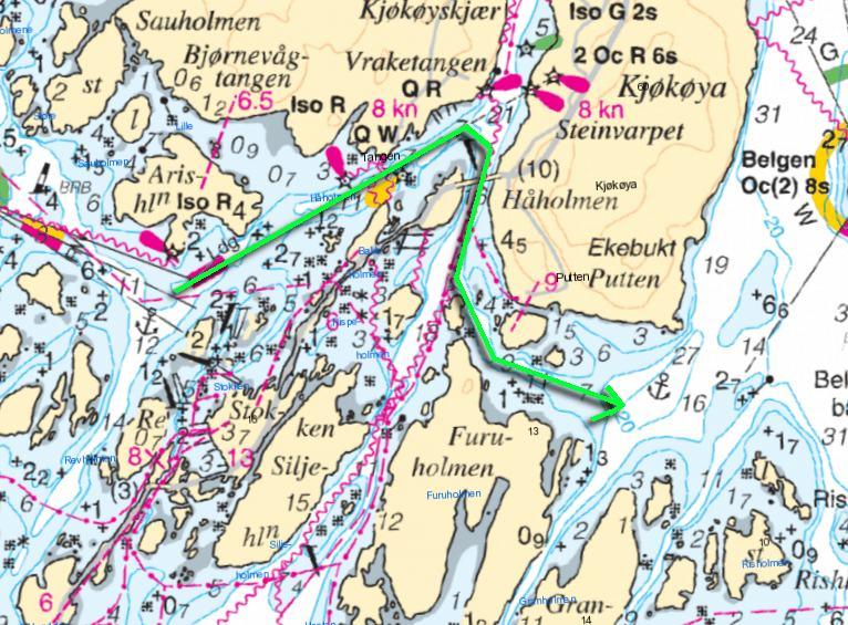 kart hvalerøyene Moss til Strømstad, reiserute?   Båtforumet   baatplassen.no. Din  kart hvalerøyene